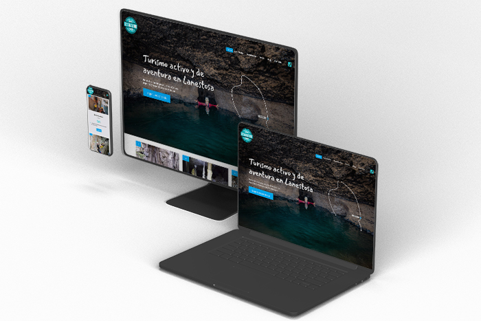 Diseño web Aventuras