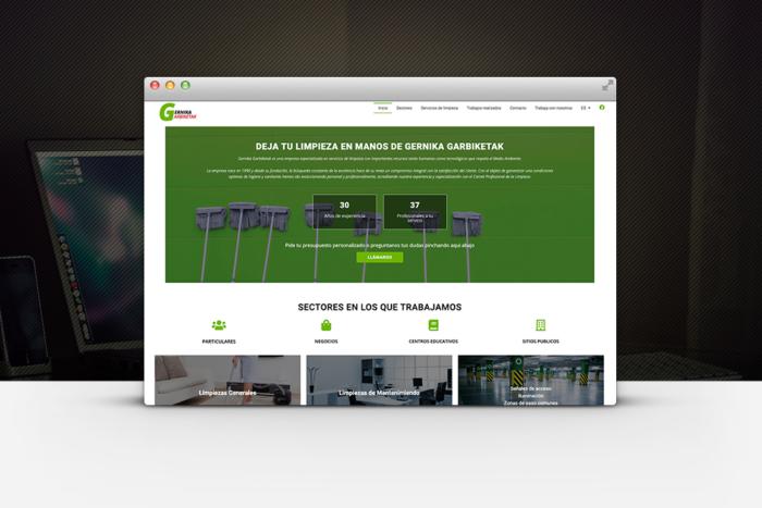 Diseño web Limpiezas