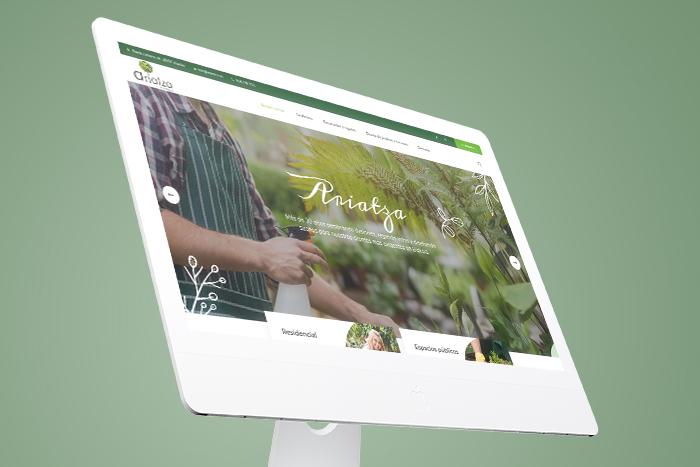 Diseño web Jardinería
