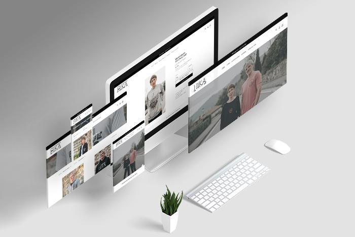 Diseño web marca