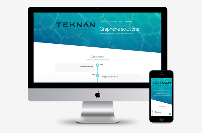 Graphene web design